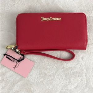 Juicy Couture red large wallet